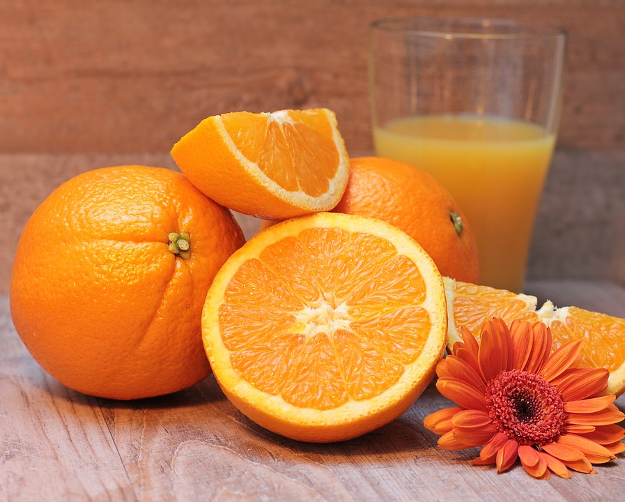 Healthy Orange Citrus Fruit Vitamin C Frisch Fruit